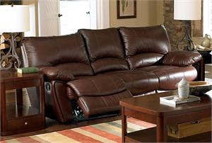 Leather Recliner Sofa Clifford Collection Item 600281 by Coaster Furniture