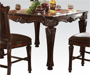Traditional Vendome Counter Height Set,62025 acme,62034 acme,62023 acme,curio,bufet