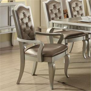 Francesca Dining Set Acme 62080,62080 acme,62080 dining,mirror dining,acme mirrored ,62080 francesca, francesca acme,francesca dining