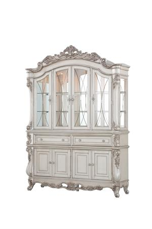 Gorsedd Collection Antique White Finish Buffet & Hutch by Acme Item 67444