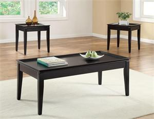 3PC Set Coffee Table Loren Collection,item 701604 by coaster
