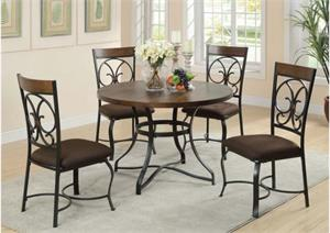 Jassi Acme Dining Set,71120 acme,71122 acme