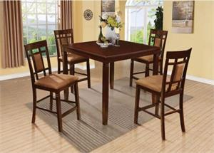 Sonata 5 Piece Counter Height Dining Set,71200 acme
