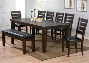 Espresso Dining Set Urbana Collection item 74620, 74624, 74625 by Acme Furniture