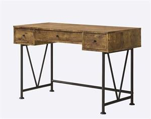 Barritt Industrial Looking Desk,801541 coaster