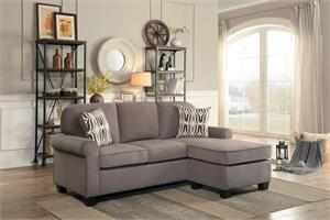 Sprague Reversible Sectional,8208 homelegance