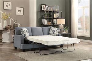 Kenner Gray Sofa with Queen Sleeper,8245gy homelegance,8245 homelegance