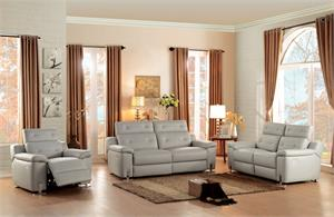 Vortex Leather Power Recliner Set,8300 homelegance