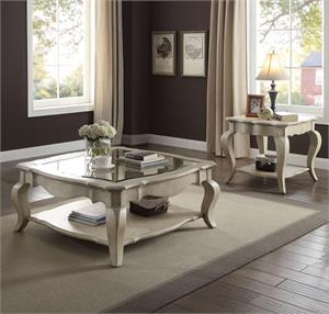 Chelmsford Collection Antique Taupe Ocasional Set Acme 86050-86052