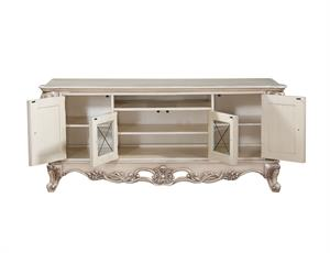 Gorsedd Collection Antique White Finish TV Stand by Acme 91443