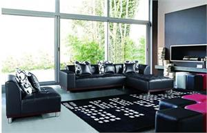 Verona Black Sectional.915 max west,915 maxwest
