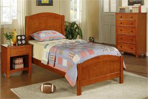 Ridgeline Oak Twin Bedroom Set