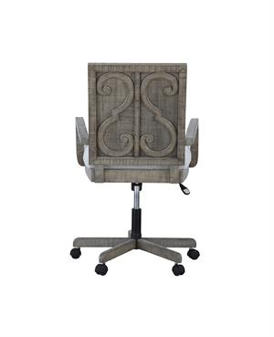 Currently Editing: Artesia Collection Salvaged Natural Finish Office Chair