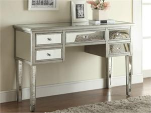 Rolan Mirrored Console Table,mirrored vanity,mirrored desk,950097 coaster