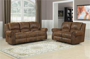 Quinn Bomber Jacket Microfiber Recliner Collection by Homelegance