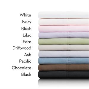 Brushed Microfiber Sheet Set Malouf MA90 Colors