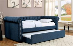 Leanna Dark Teal Day Bed CM1027,cm1027 furniture of america