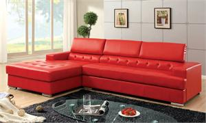 Floria Red Sectional CM6122RD,CM6122RD,CM6122RD import direct,CM6122BK,CM6122WH