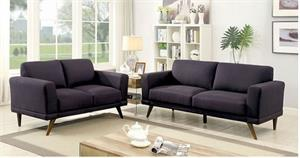 Black Sofa Set Janie Collection,cm6977bk furniture of america