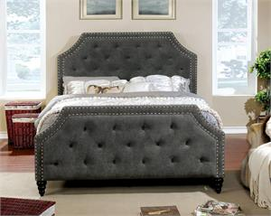 Adhara Upholstered Bed.cm7685, cm7685 bed, cm7685 furniture of america