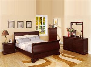 Cherry Laurelle Collection Bedroom Set Item CM7815