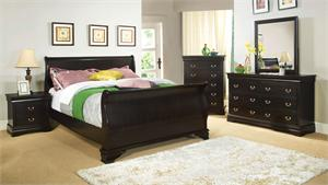 Espresso Laurelle Collection Bedroom Set Item CM7815EX