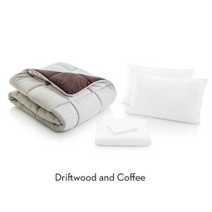 Reversible Bed in a Bag by Malouf Driftwood and Coffee