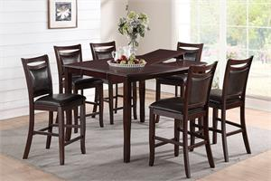 Counter Height Dining Set Poundex F2238,f2238 poundex,f1389 poundex