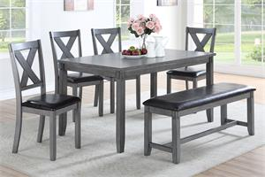 6 Piece Dining Set Item F2548 by Poundex