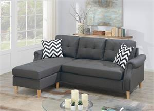 Reversible Sectional Poundex F6459