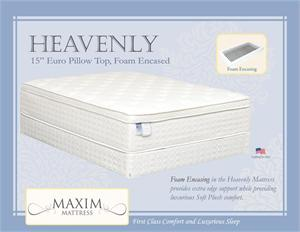 Heavenly Mattress by Maxim Mattress