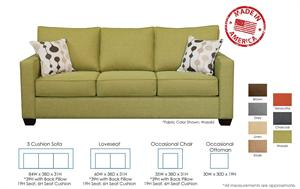 Hudson Custom Sofa Set by Christopher Robbins