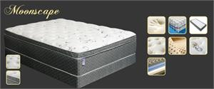 Ultra Plush Moonscape Euro Pillow Top Mattress