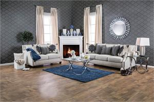 Cornelia Beige Sofa Set SM3070,sm3070 furniture of america