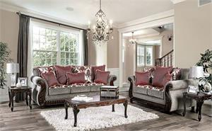 Whitland Sofa Collection,sm6219 furniture of america, sm6219 sofa