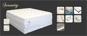 Ultra Plush Serenity Euro Pillow Top Mattress by Maxim Mattress