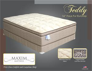 Teddy Plush Mattress by Maxim Mattress