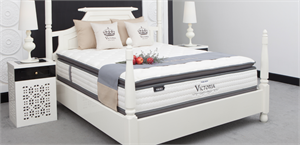 Victoria Memory Gel Foam Dual Seasons Sixth Sense Pocket Coil Mattress