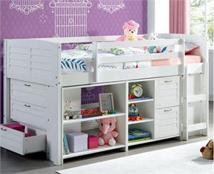 Abigail Twin Loft Bed, cm-bk967 furniture of america