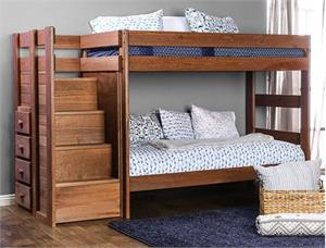 Ampelios Twin/Twin Bunk Bed AM-BK102,am-bk102 bunk bed,am-bk102 furniture of america