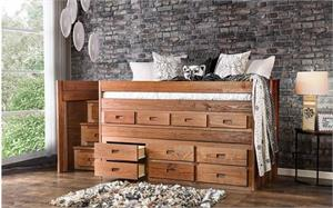 Cleon Twin Captain Bed AM-BK601,am-bk601 bed,am-bk601 furniture of america