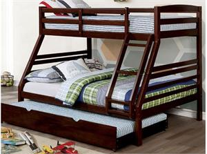 Elaine Twin/Full Bunk Bed,cm-bk634 bunk bed, cm-bk634 furniture of america