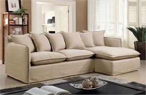 Rosanna II Sectional CM6367,cm6367bg furniture of america