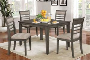 Fafnir 5 Piece Dining Set,cm3607 furniture of america