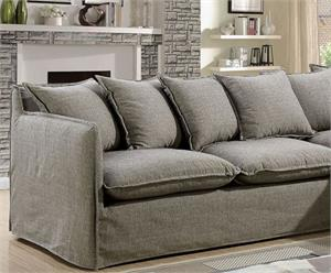 Rosanna II Gray Sectional CM6367,cm6367gy sectional