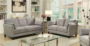 Ysabel Grey Sofa Set Collection,cm6716 furniture of america