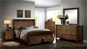 Elkton Storage Bedroom Set,cm7072 furniture of america