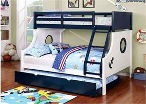 37690 Pearlie Acme Twin Over Twin Bunk Bed
