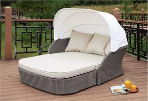Aida Patio Canopy Daybed,cm-os2107 furniture of america