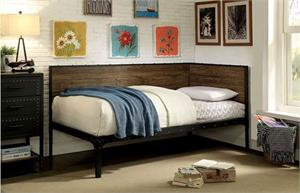 Elsie Industrial Looking Day Bed CM1029,cm1029 furniture of america